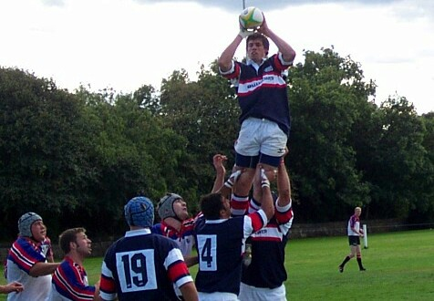 Matt DeFranck takes lineout ball against Murrayfield